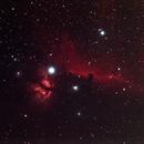 Flame & Horsehead Nebula,                                mtbkr123