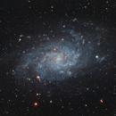 Triangulum Galaxy, M33,                                Jason Tackett