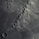 Montes Apenninus. Mosaic of 2 pictures. 02.05.2020,                                Sergei Sankov