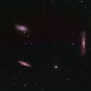 M65-66 and NGC 3928,                                Jürgen Kemmerer