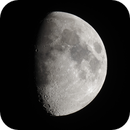 Eight-Day-Old Moon, June 29, 2020 (w/ PSRS),                                AlenK