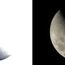 Lune , V et  le X de Werner,                                Ariel