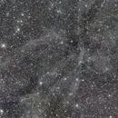 Angel Integrated Flux Nebula with satellites.,                                David Elmore