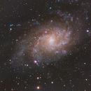 M33 Triangulum Galaxy,                                Eddie Hunnell
