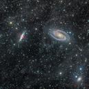 Bode's Nebulae and Enhanced Background,                                Miles Zhou