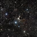 "sh2-136 ""Ghost Nebula"" in Cepheus - LRGB,                                Daniel.P"