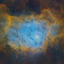 Lagoon in Hubble Palette,                                Ignacio Diaz Bobillo