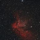 NGC 7380, The Wizard Nebula,                                Bruno LAILLER