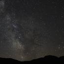 Voie Lactée au col de Restefond,                                Sagittarius_a