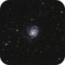 M101 - Pinwheel Galaxy,                                astromario