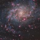 M33 center RGB+HA,                                Ola Skarpen SkyEyE