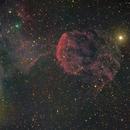 IC443 - Jellyfish Nebula (fullmoon),                                Tristan Campbell