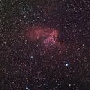 NGC7380 Wizard Nebula HA+LRGB,                                Vikas Sahota