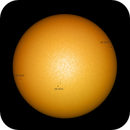 Sun with 3 active regions: 2816, 2817, 2818,                                pmneo