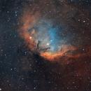 The Tulip Nebula in Hubble Palette,                                Bogdan Borz