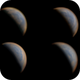 Evolution of Venus clouds in 4 consecutive days,                                Alessandro Biasia