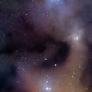 Rho Ophiuchi Nebula,                                Máximo Bustamante