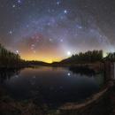 Orion Venus and the zodiacal light,                                Łukasz Żak