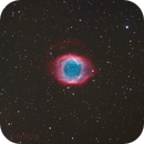 NGC7293 - the Helix (full aps-c field) from the Alps,                                Gianni Cerrato