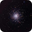 Amas globulaire M13,                                Nadir Benhamouda