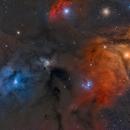 Complesso nebuloso di Antares,                                Federico Bossi