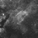 Gamma Cygni Region in Hydrogen alpha,                                Jimmy Eubanks