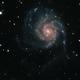 M101 - Pinwheel Galaxy,                                nerdybeardo