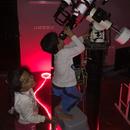 MY KIDS OBSERVING THE MOON,                                Turki Alamri