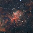 Melotte 15 Ha OIII RGB,                                Boyan Kassabov