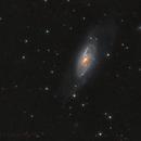 M106 Spiral Galaxy in Canes Venatici,                                Lensman57