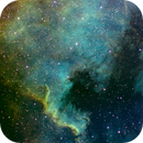 North America Nebula in Hubble Palette,                                stevebryson