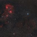 From Simeis147 Spaghetti Nebula to Heart of Auriga,                                Marzio Bambini