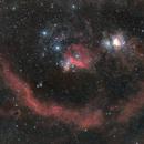 Boucle de Barnard dans Orion,                                LAMAGAT Frederic