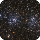NGC869 Double Cluster in Perseus,                                Jerry Macon