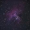 Eagle Nebula M16,                                Rubens Menabue