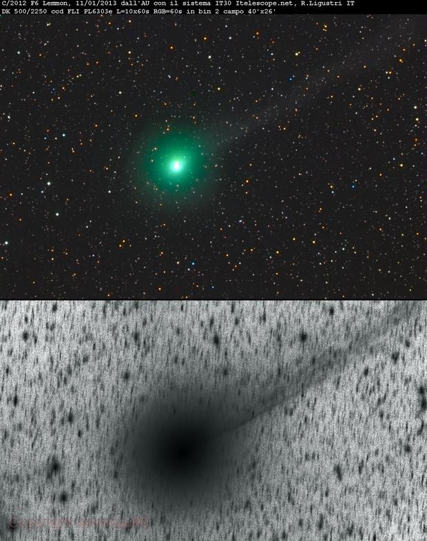 cometa C/2012 F6 Lemmon,                                Rolando Ligustri