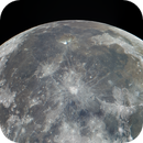 Panorama of 4 pictures. Rays diverging from the Copernicus and Kepler craters. Moon 09.03.2020. Illumination 99.8%.,                                Sergei Sankov