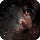 sh 2-155 Cave Nebula NB,                                Richard Pattie
