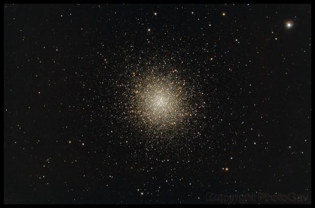 M13 - The Great Globular Cluster in Hercules,                                PhotoGav