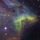 IC 5070 Pelican nebula in SII, Ha, OIII,                                tinysmall
