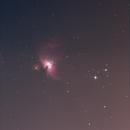 M42 setting into the lightpollution,                                Jan Borms