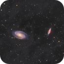 M81-M82 Les galaxies de Bode et du cigare,                                astromat89