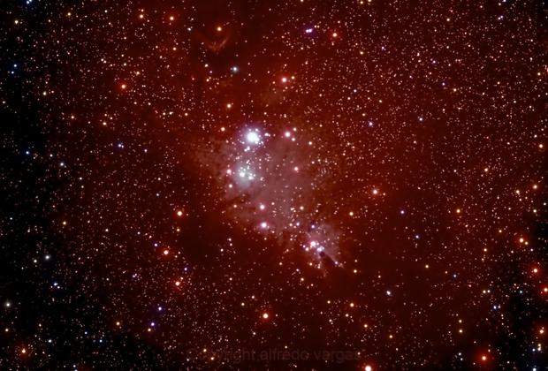 NGC-2664 THE CONE NEBULA,                                Alfredo Vargas