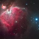 the orion nebula M42,                                andyo