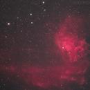 Flaming Star Nebula,                                Clay Kesterson