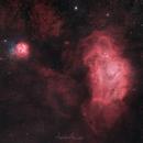 The Beauty of Lagoon Nebula,                                Abdulla Almesleh