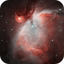 The Orion nebula in Ha and Oiii,                                Jake Stavola