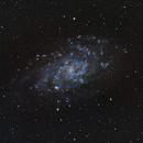 M33 IN HaRGB,                                John Richards