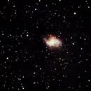 M1 - Crab Nebula - 20190211,                                altazastro