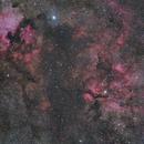 NGC7000, IC5067-5070, IC1318 and NGC6888,                                Marukawa